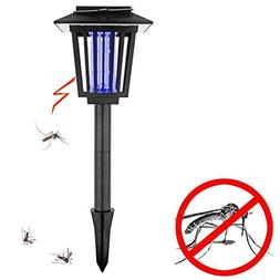 KAPATA Solar-Powered Outdoor Bug Zapper/Mosquito Killer-Hang
