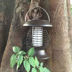 Solar Powered Electric LED Lamp Outdoor IP55 Mosquito Insect