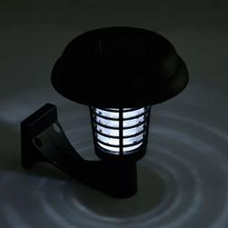 Solar Powered Mosquito Killer Wall-mounted Ultra-bright LED