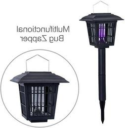 YIER Solar-Powered Outdoor Insect Killer/Bug Zapper/Mosquito