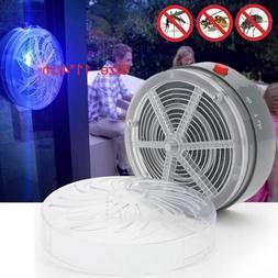 Solar Powered UV Insect Bug Mosquito Killer Light Zapper Hom