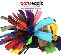 Special Price - 25 Assorted YKK All Purpose Zippers for Sewi