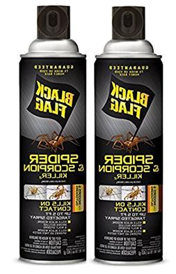 Black Flag Spider and Scorpion Killer Aerosol Spray, 16-Ounc