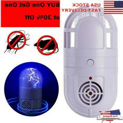 Ultrasonic Repellent Atomic Bug Zapper Pest Repeller Insect