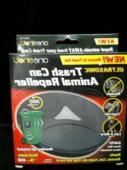OneShot Ultrasonic Trash Can Animal Repeller USB Rechargeabl