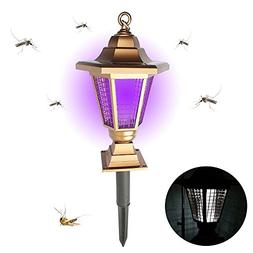 Pawaca New Upgraded Solar Insect Zapper - Mosquito Control,