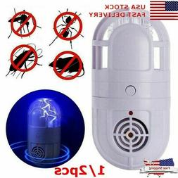US Plug Ultrasonic Repellent Atomic Bug Zapper Pest  Repelle