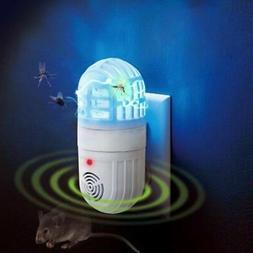 US Plug Ultrasonic Repellent Atomic Bug Zapper Pest Repeller