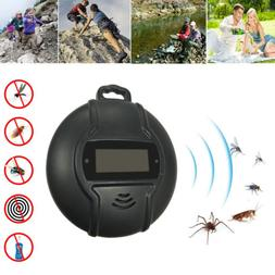 USB&Solar Power Camping Pest Mosquito Repeller Killer Insect