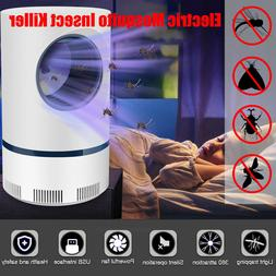 USB Electric Indoor Fly Bug Zapper Mosquito Killer LED Light