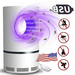 USB Electric Mosquito Killer Bug Insect Zapper 360° Trappin