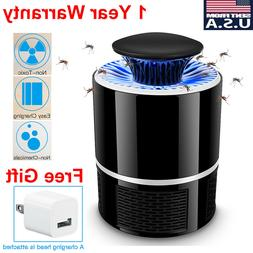 USB Electronic Fly Bug Insect Mosquito Killer Indoor Mosquit