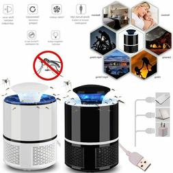 USB Mosquito Killer Lamp Insect Fly Bug Zapper Trap Pest LED