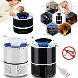 USB Mosquito Killer Trap Indoor Fly Bug Pest Insect Zapper L
