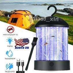 usb recharge outdoor uv mosquito fly bug