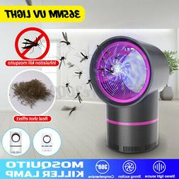 UV LED Light USB Electronic Mosquito Trapper Bug Zapper Safe