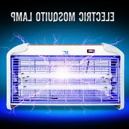 UV Night Lamp Electric Control Fly Bug Insect Trap Zapper Pe