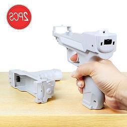 Wii Motion Plus Gun for Nintendo Wii Controller + Wii Shooti