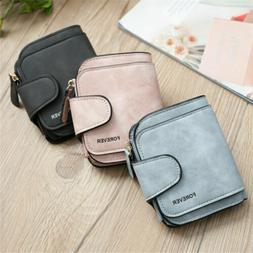 Women Girl Leather Wallet Card Holder Coin Purse Clutch Hand