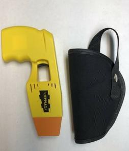 Yellow Zapper Police Toy Taser Stun Gun WITH HOLSTER
