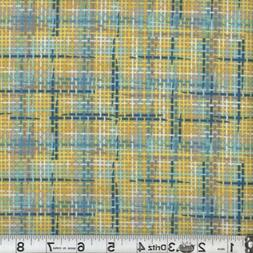 Zapper 09 Multi-Color Plaid Cotton Quilting Sewing Fabric -