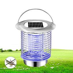 YOUDirect Bug Zapper-Mosquito Trap Night Lamp Portable Solar