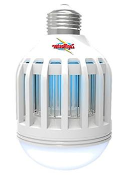 Zap Master ZM400 Led 2-in-1 Bug Zapper Bulb & Porch Light